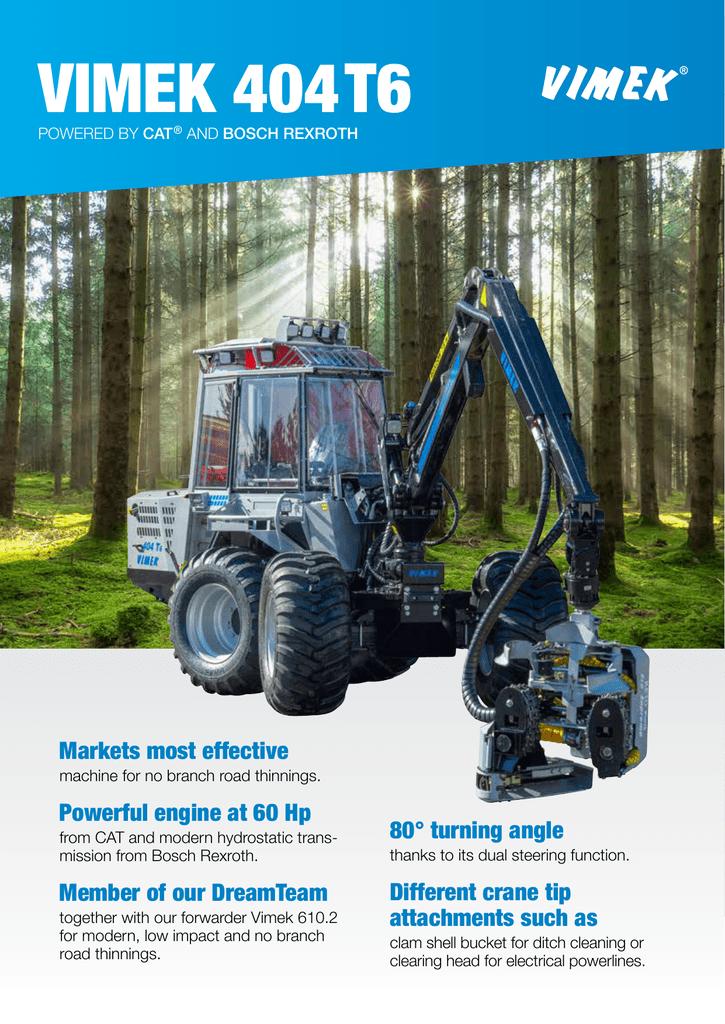 Vimek prodblad 2015 aug 404T6-ENG-LR | manualzz com
