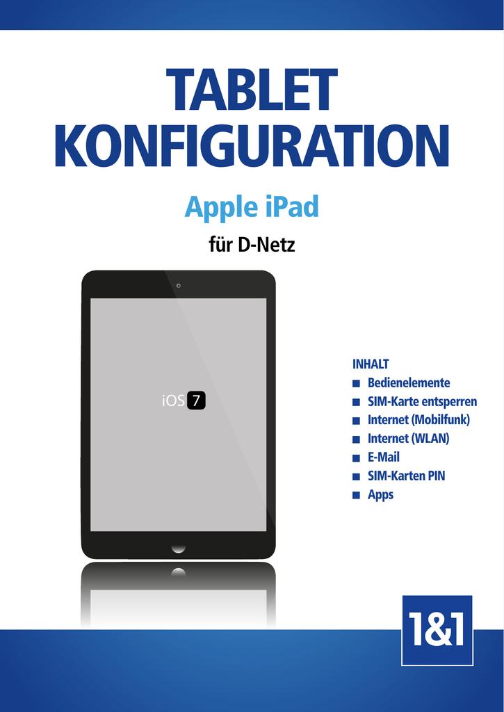 Sim Karte Entsperren Ipad.Tablet Konfiguration Apple Ipad Ios 7 D Manualzz Com