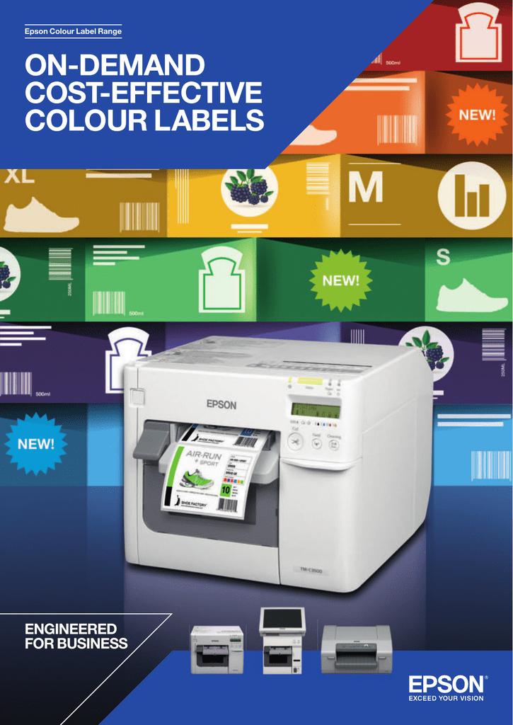 Cyan DURABright Pigment Ink Cartridge for Epson TM C3500 C33S020602 SJIC22P C