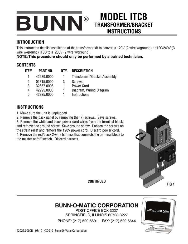 Transformer/Bracket Kit Instructions | manualzz.com