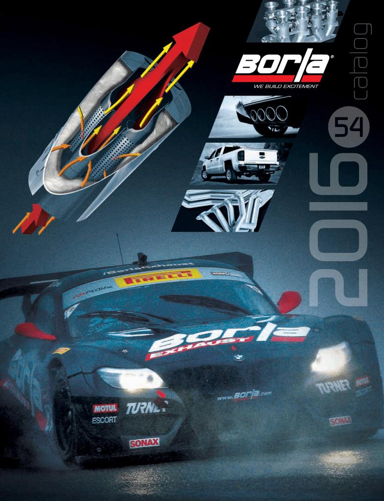 BORLA Catalog 54 | manualzz com