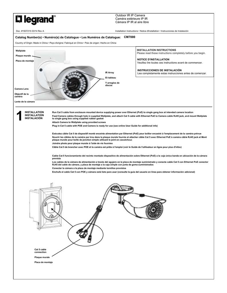 Port Gigabit Switch With Poe Da1458 By Legrand