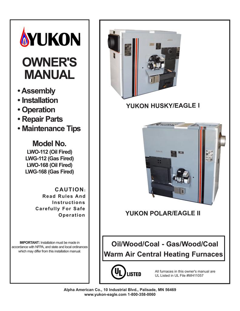 New Installation Manual Husky Polar Hot Air Wood Furnace Wiring Schematic