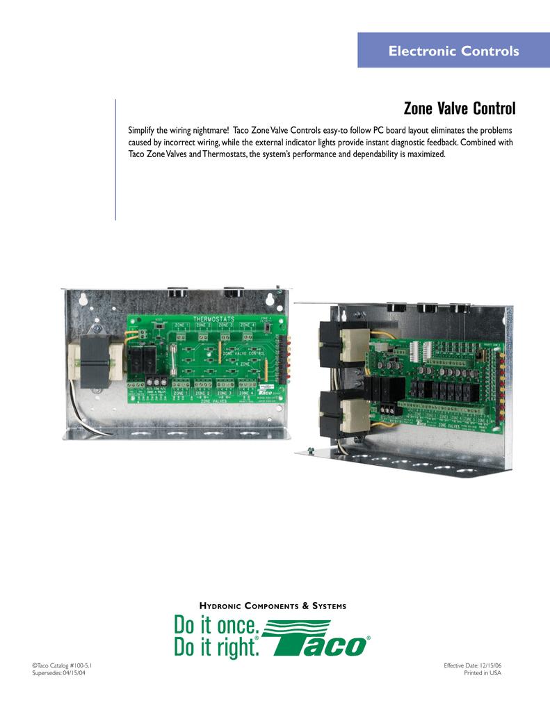 taco controls wiring zvc404 submittal manualzz  zvc404 submittal manualzz