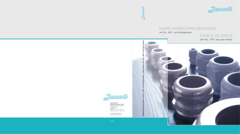 Kabelverschraubung IP68 PG7 PG9 PG11 PG13.5 mit Gegenmutter Weiß halogenfrei Neu