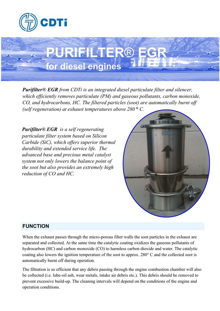 PurifilterEGR GBpdf | manualzz com