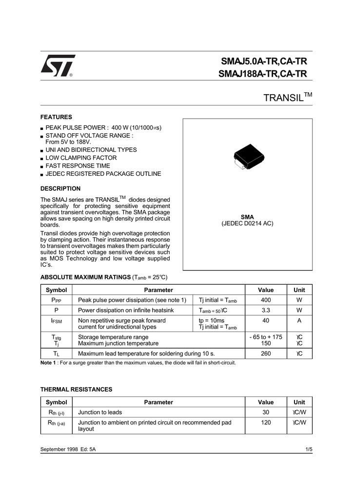 BAT48 SMALL SIGNAL SCHOTTKY DIODE 10 ou 25 St-Pack de 5 350 mA 40 V