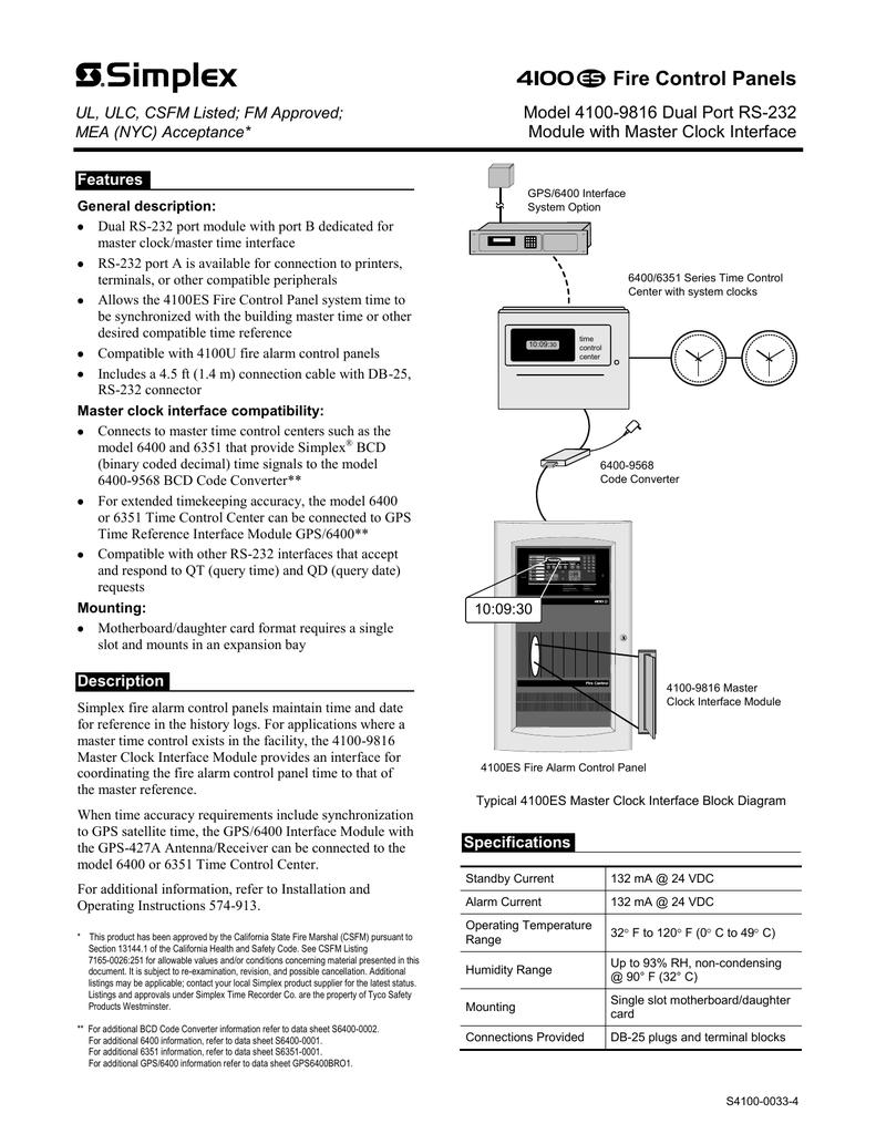 S4100 0033 4 6400 Converter Wiring Diagram
