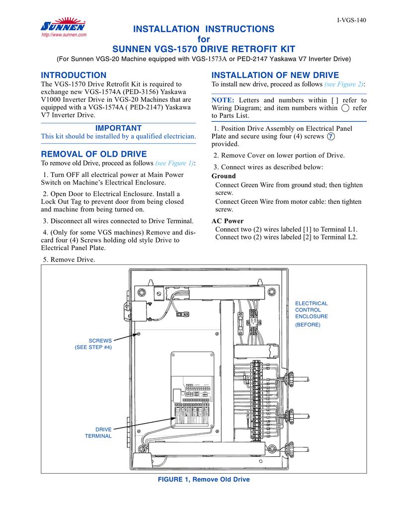 I-VSS-140: VSS1040 Column Drive Retrofit Kit | manualzz com