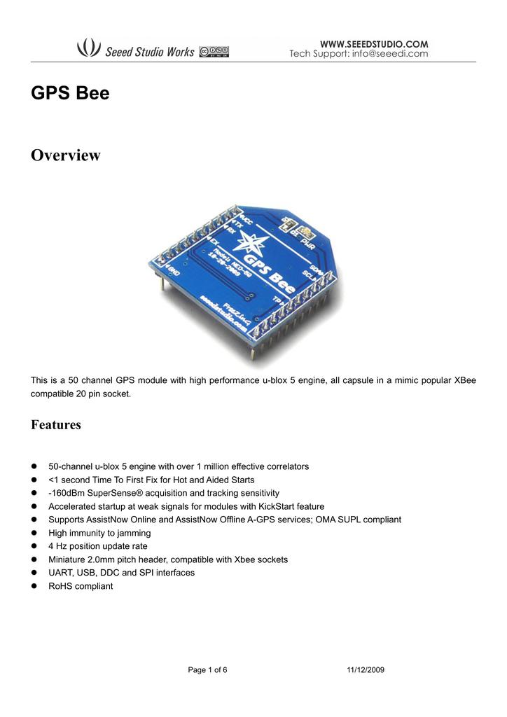 GPS Bee Datenblatt [PDF/944KB]   manualzz com