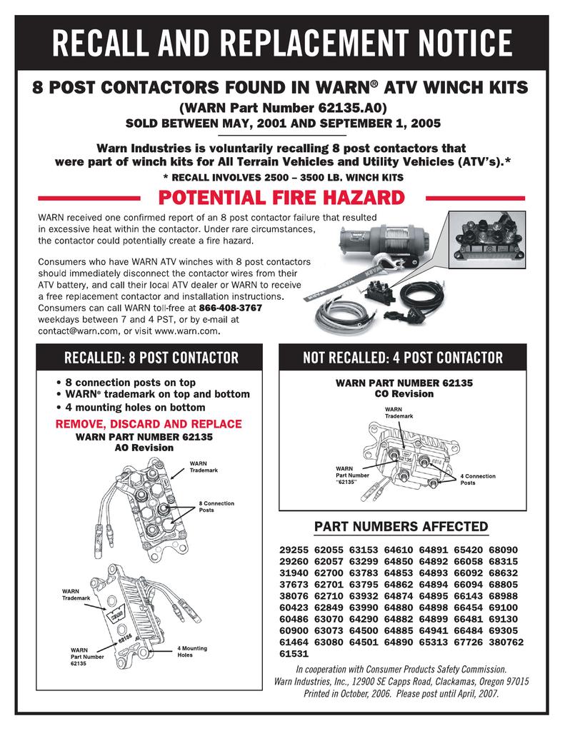 Atv Winch Wiring Instructions