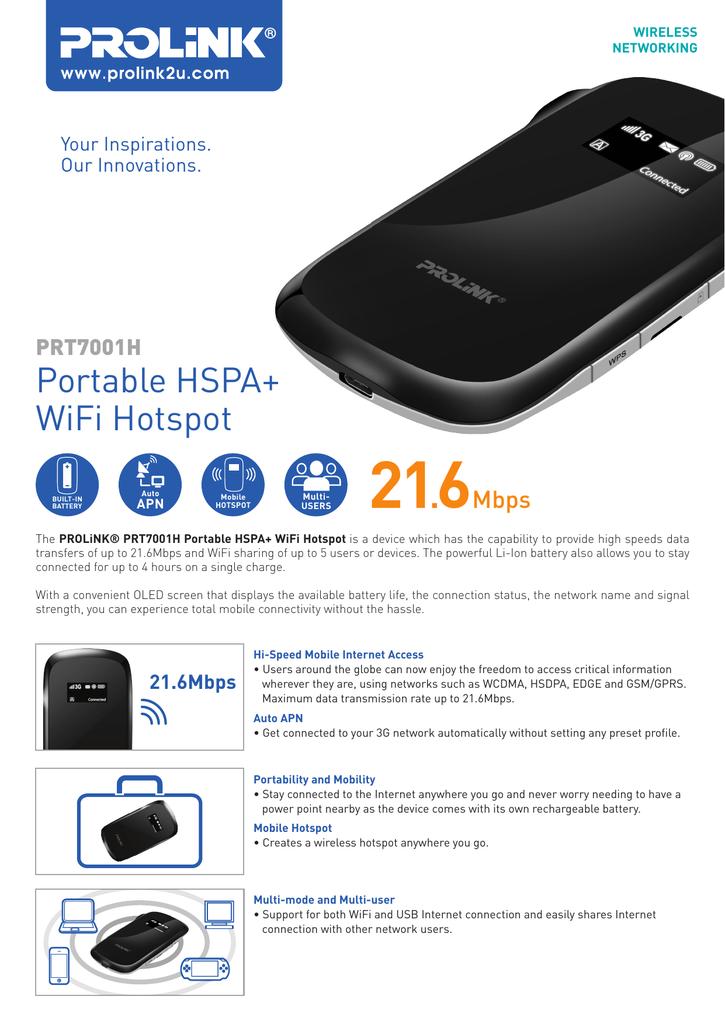 21 Portable HSPA+ WiFi Hotspot Mbps | manualzz com