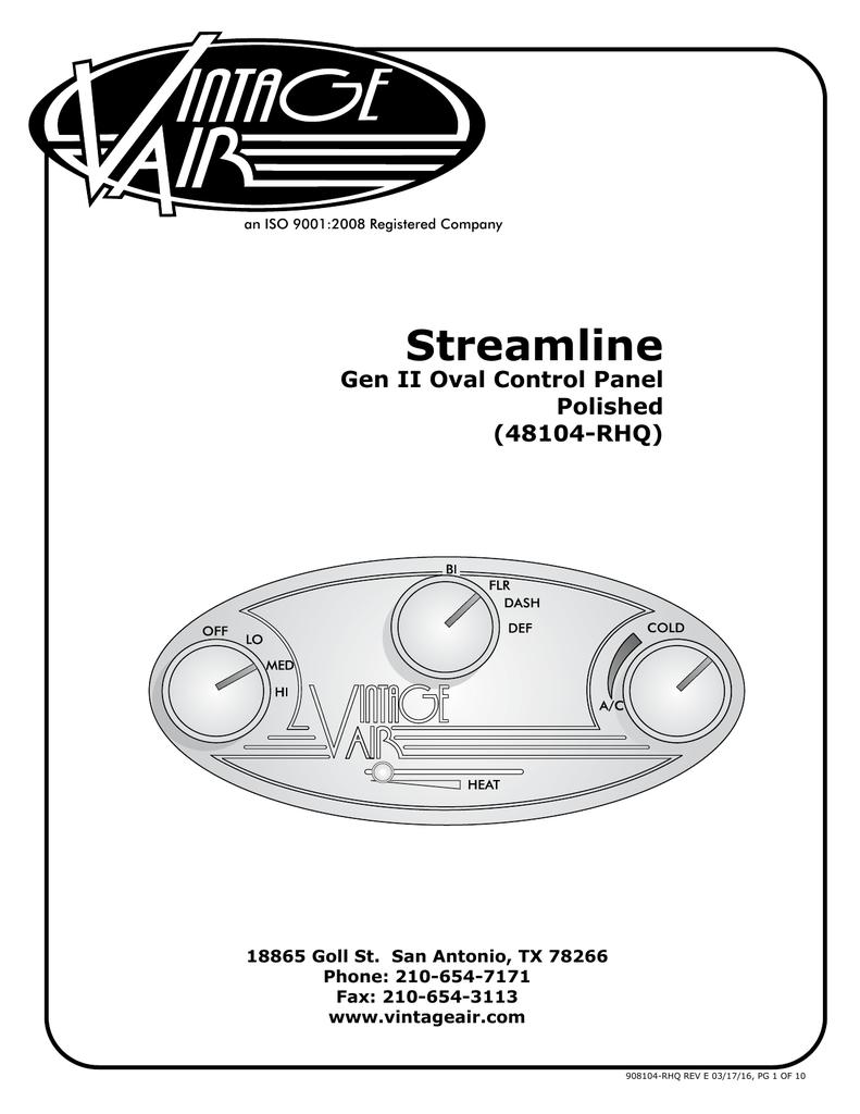 48104-rhq | manualzz com on push pull potentiometer diagram,  potentiometer wiring to vintage air