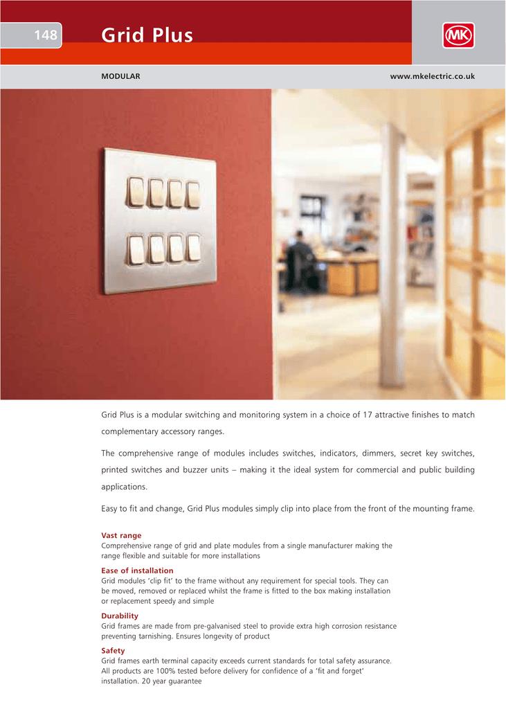 MK Grid Universal Dimmer Switch K4501