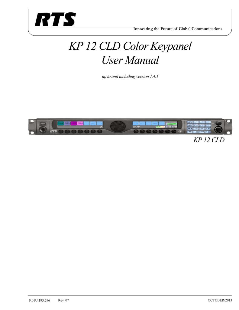 kp 12 cld manual