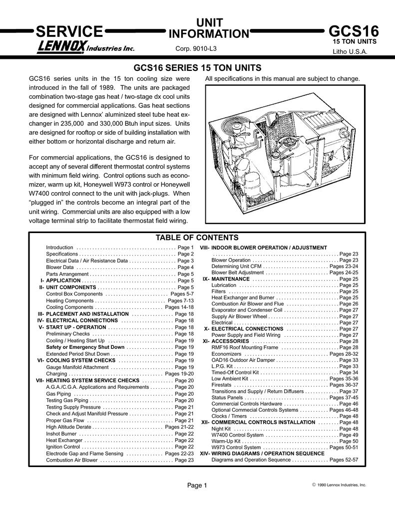 Gcs16 1853 Service Manualzz Com
