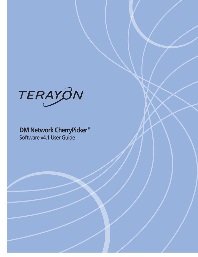 Motorola Terayon DM6400 Network CherryPicker w//4 cards rack unit with ASIC/'S