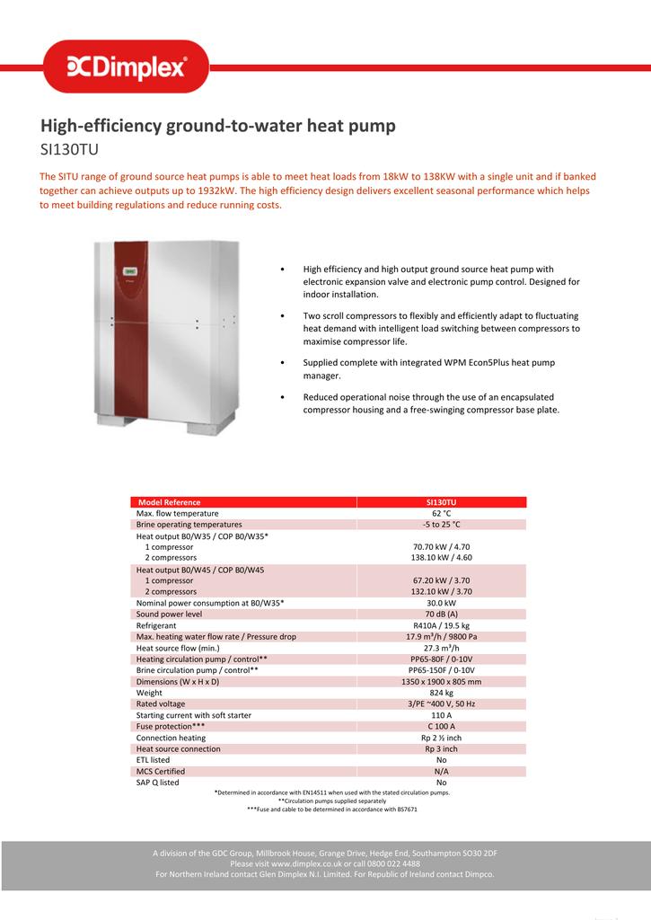 SI130TU_datasheet | manualzz com