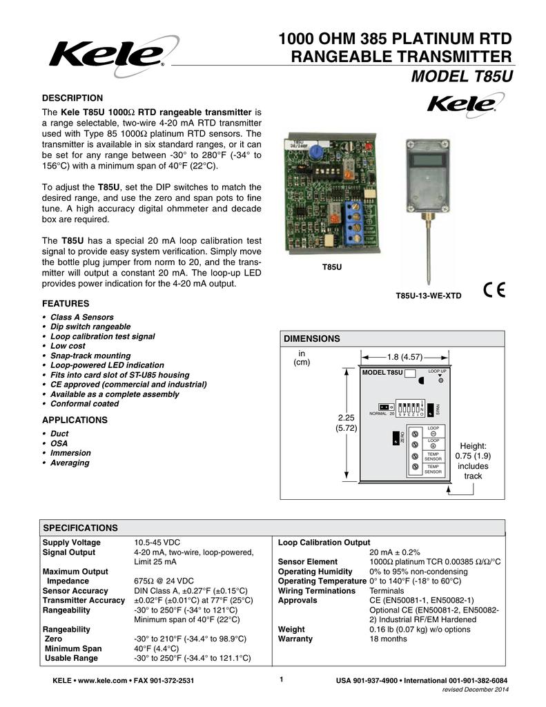 transmitter loop test