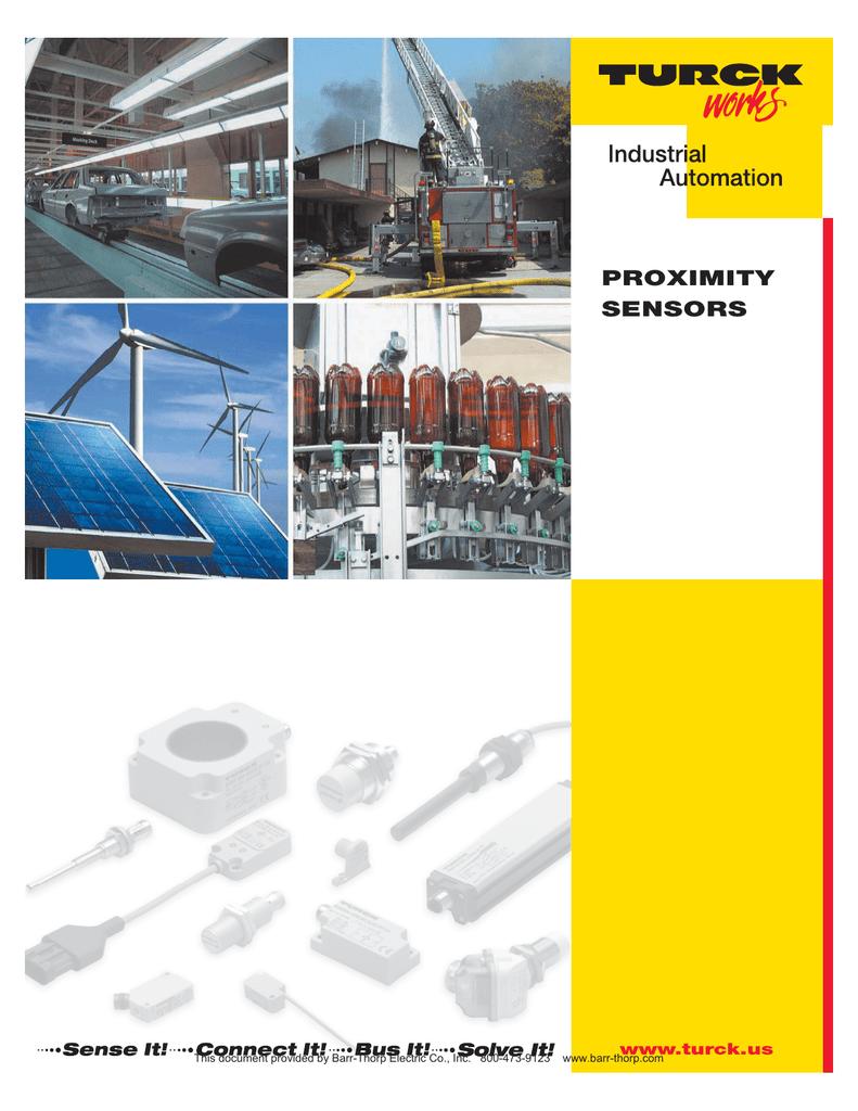 Inductive Cylinder Position Sensors Turck Sensor Wiring Diagram