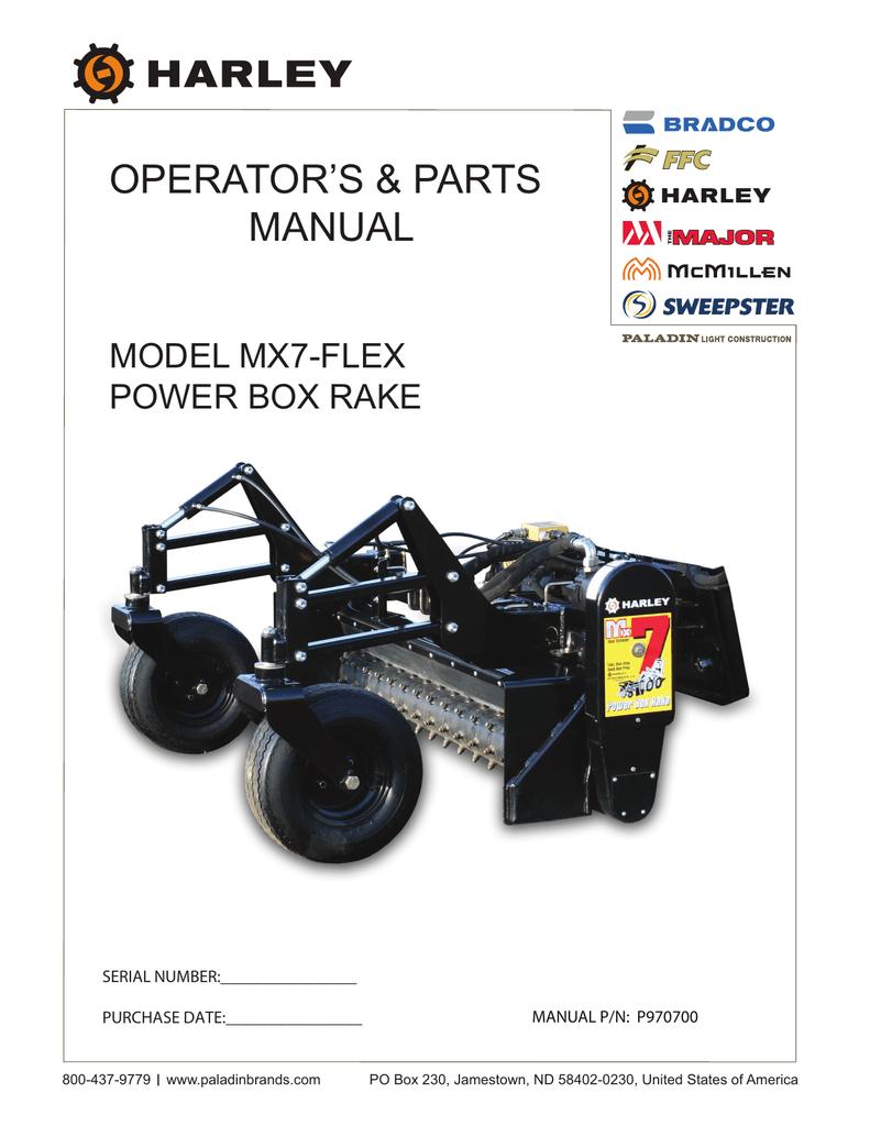 MX7 Power Rake MX77A001 | manualzz.com on