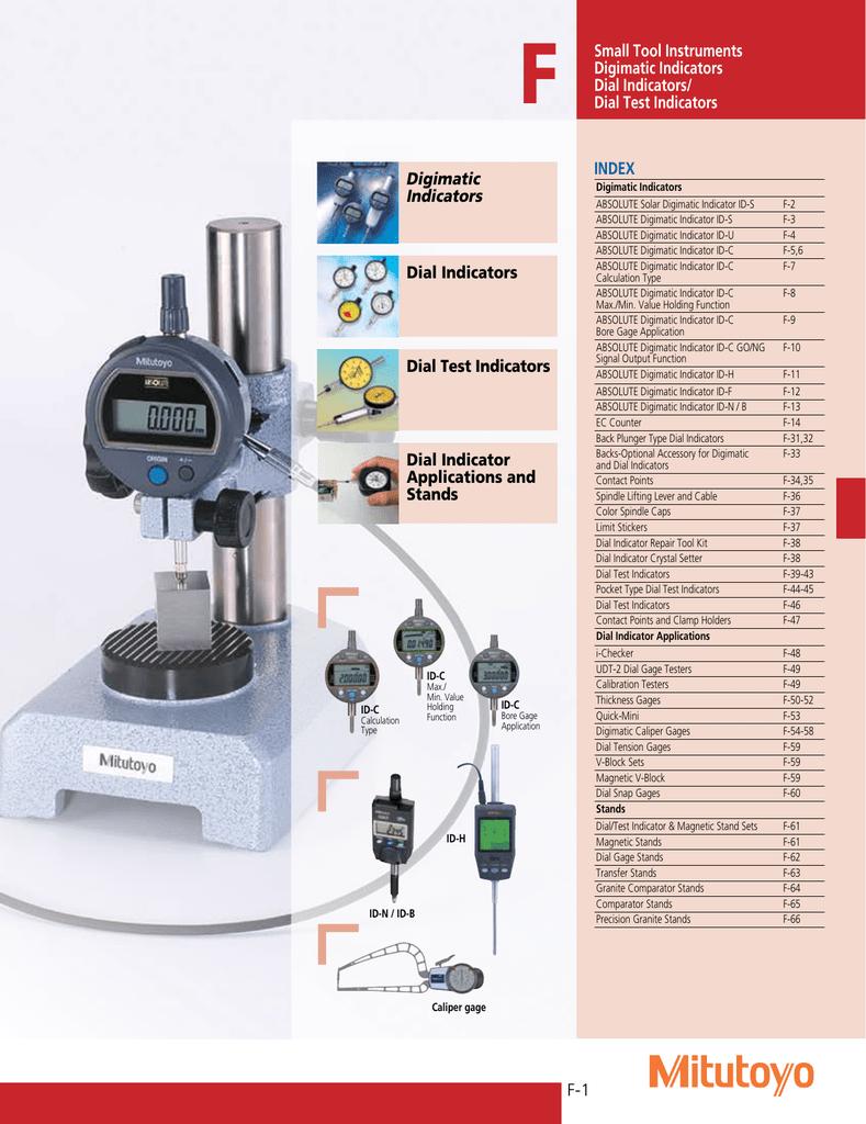 .04 Range Per Rev. 3//8 Stem Diameter Series 0 Flat Back Mitutoyo 1921TB-10 Dial Indicator.001 Graduation.1 Range// 0-20-0
