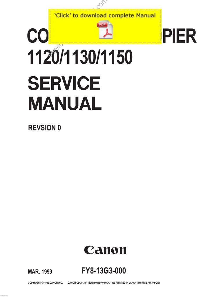 CANON CLC 1160 DRIVER FOR WINDOWS