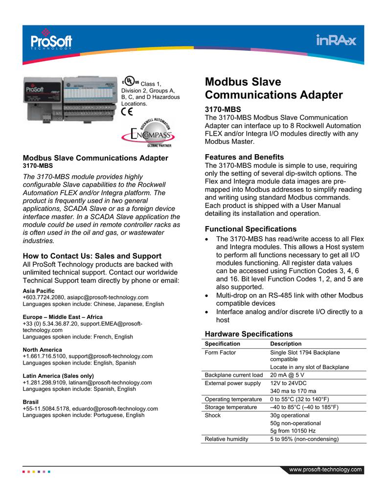 3170-MBS Datasheet | manualzz com