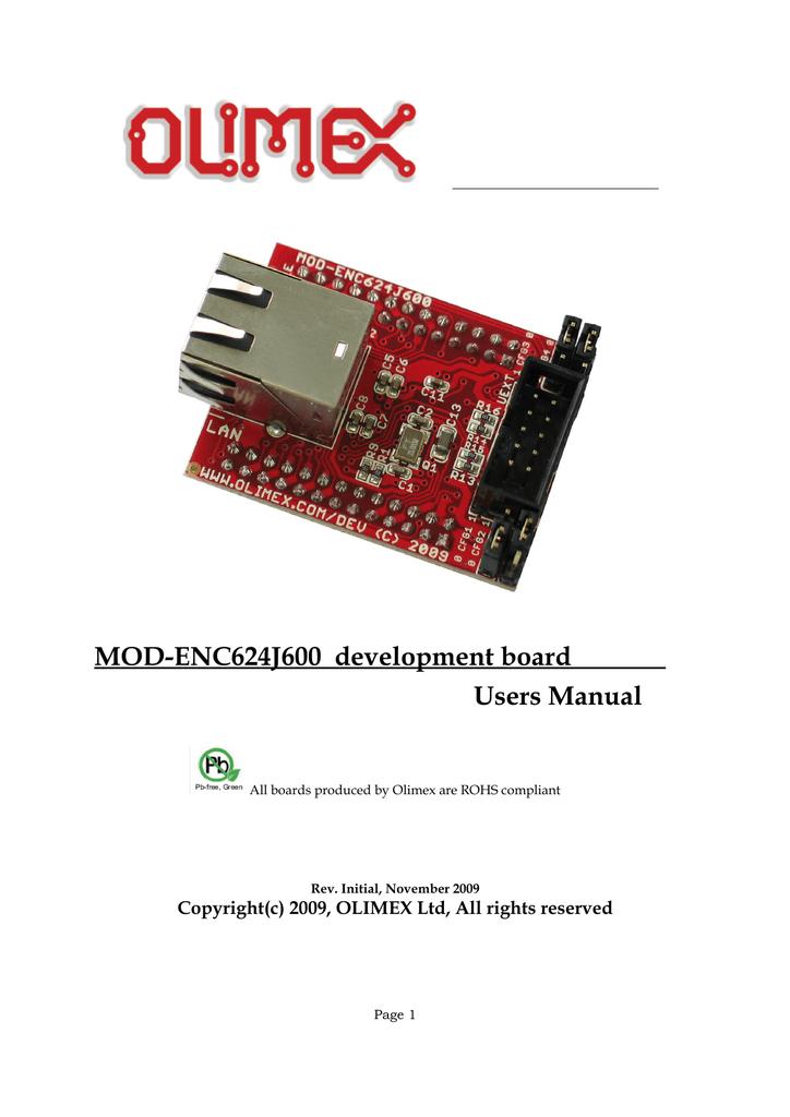 MOD-ENC624J600   manualzz com