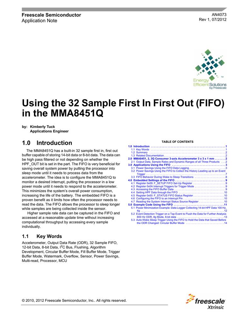 AN4073 FIFOの使い方 | manualzz com