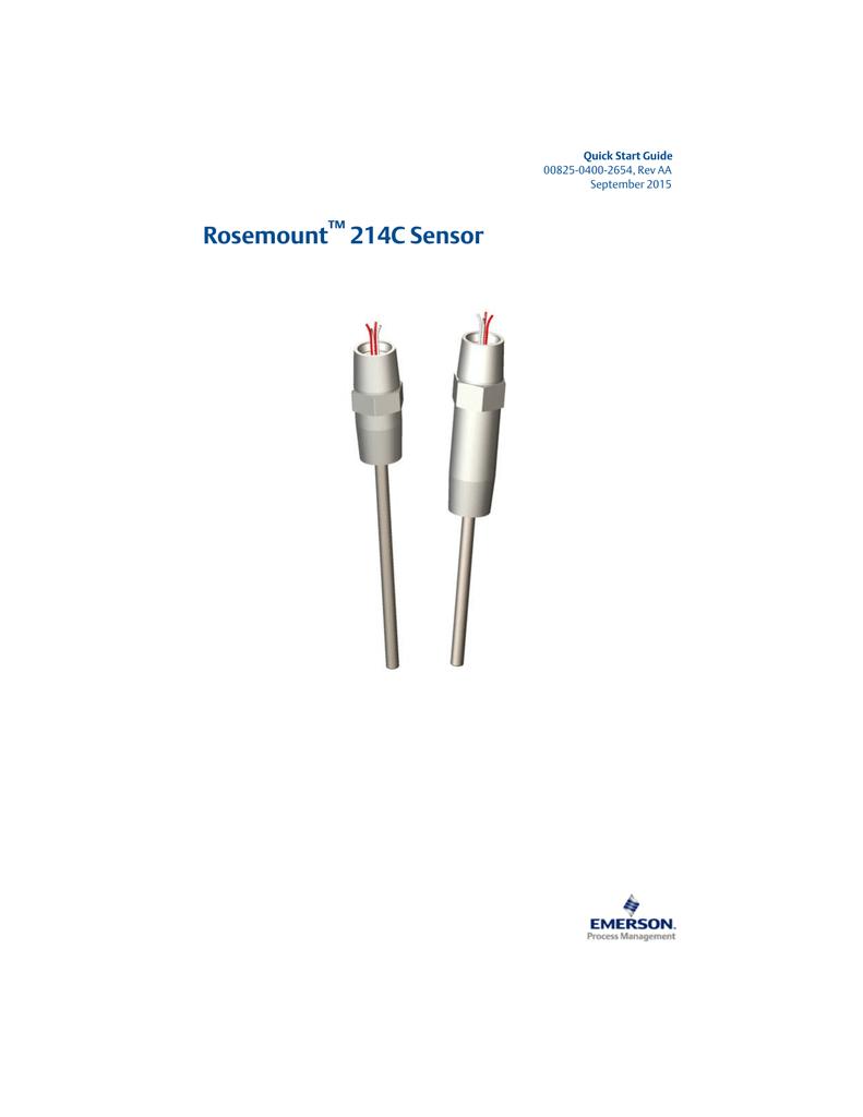 214c Rosemount Wiring Diagram Trusted Diagrams Sensor Manualzz Com