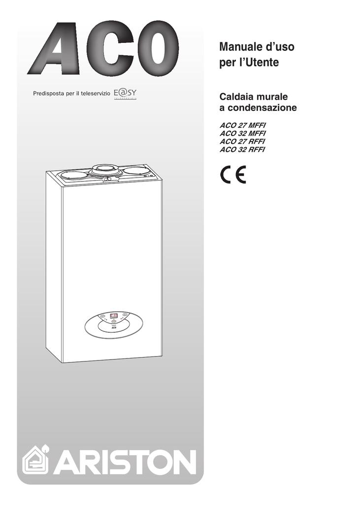 Caldaia ariston istruzioni for Caldaia ariston bs ii 24 cf manuale