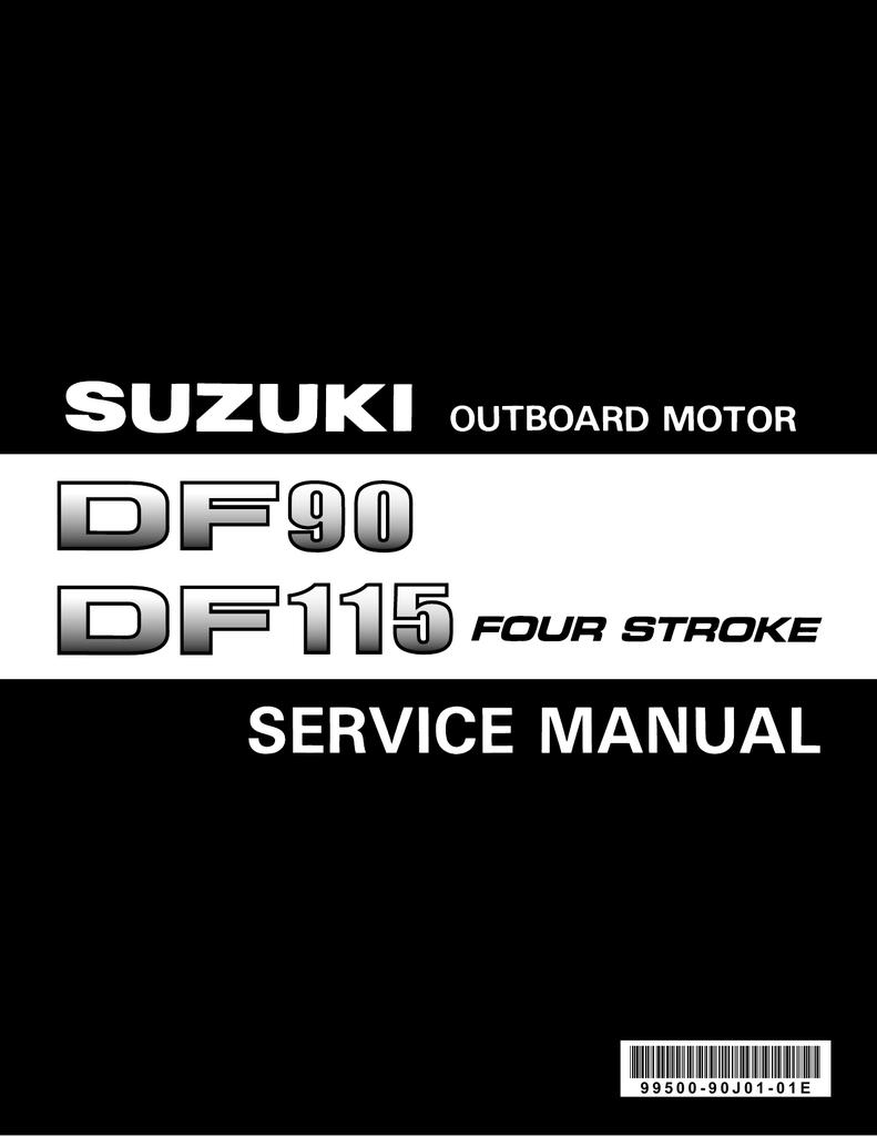 SUZUKI DF90-115 сервис, ремонт 1 | manualzz com