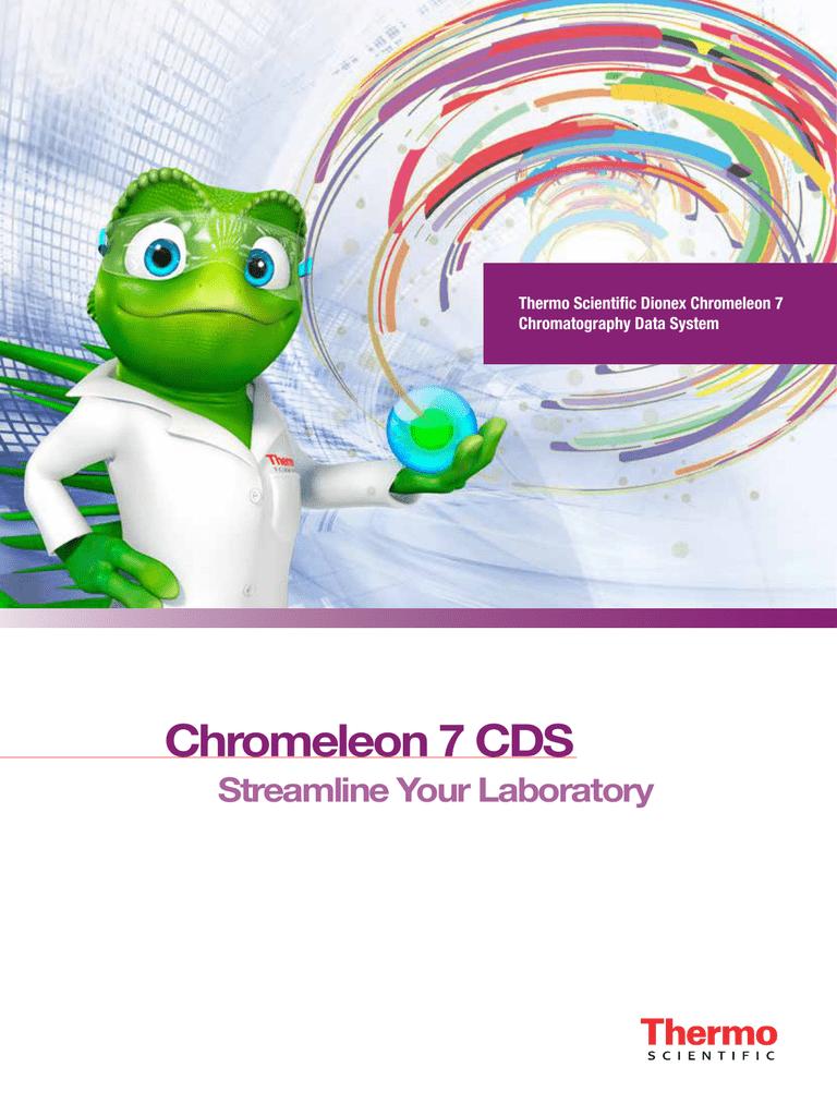 Chromelon 7 2 Chromatography Data System Brochure | manualzz com