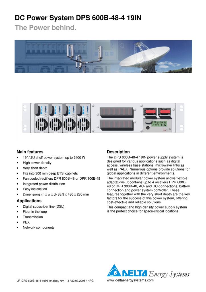 DPS-600B-48-4   manualzz com