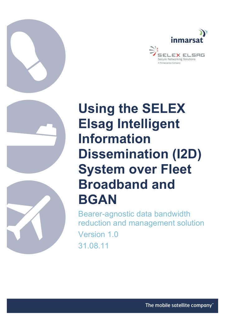 Using the SELEX Elsag Intelligent Information Dissemination