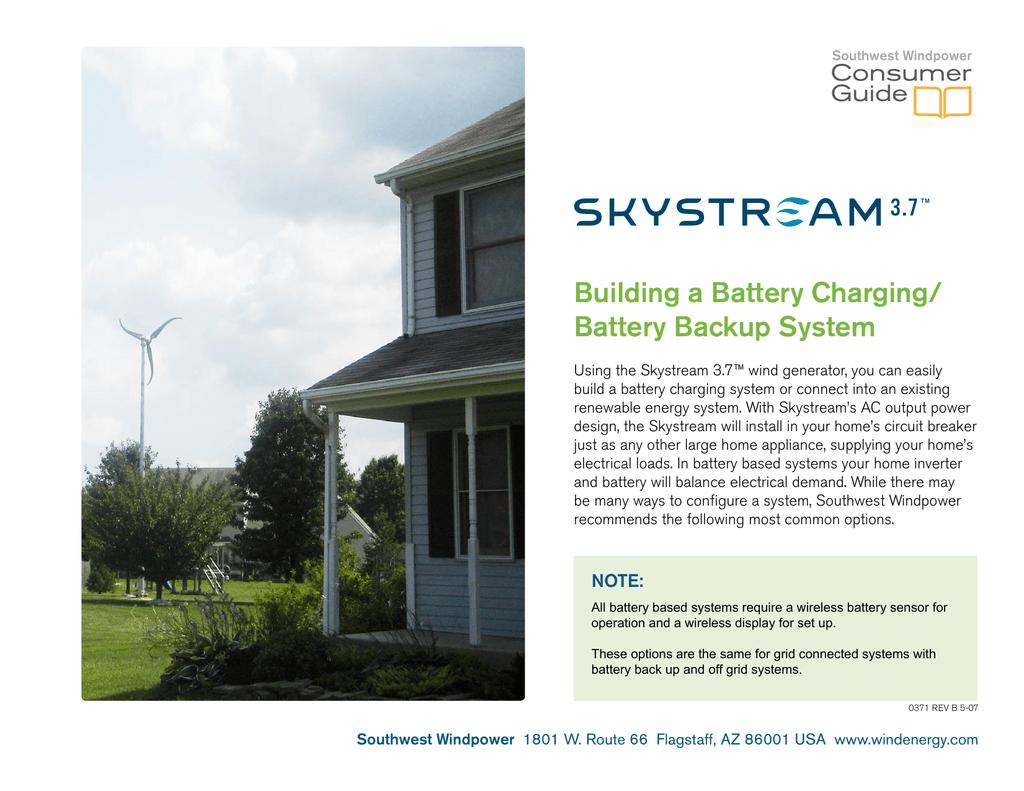 SOUTHWEST-WINDPOWER-SKYSTREAM-3 7-manual-carga-baterias