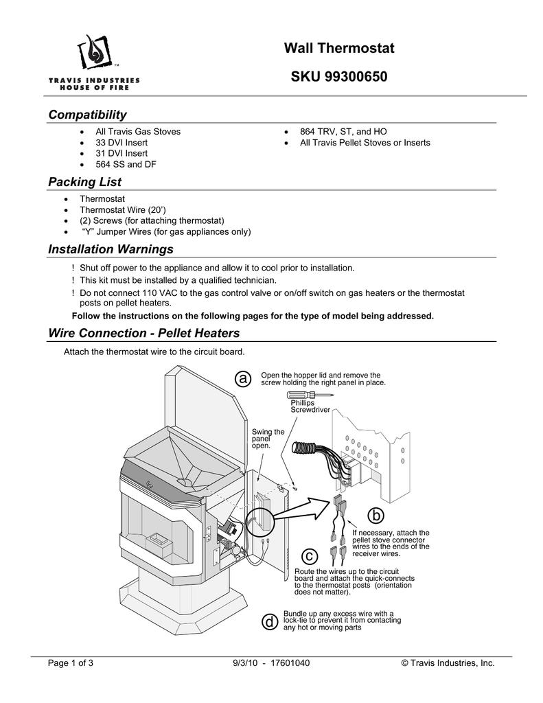 Thermostat, Wall   manualzz com