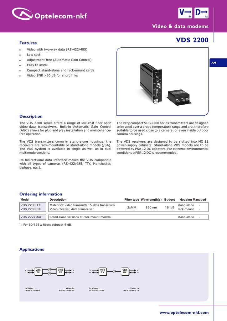 VDS2200_eng | manualzz com