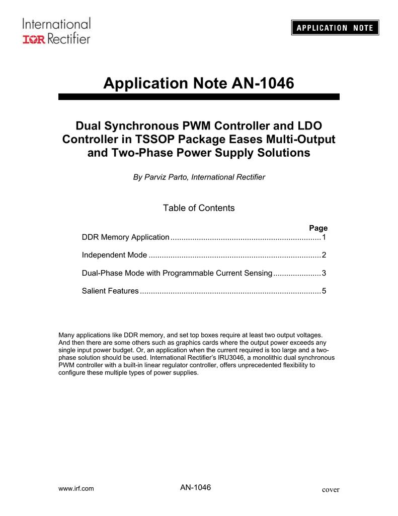 AN-1046 | manualzz com