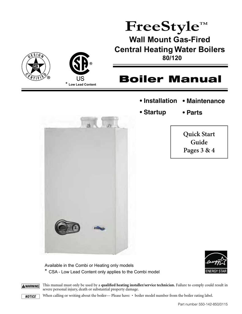 Freestyle Boiler Manual Taco Zone Valve Wiring Diagram Sentinal