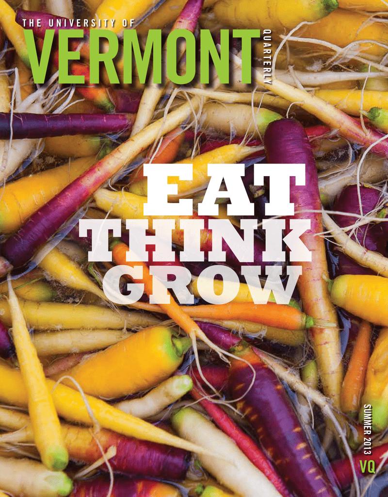 EAT VERMONT THINK GROW