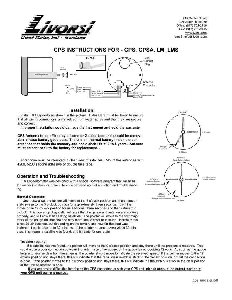 Outstanding Gps Monster Manualzz Com Wiring Digital Resources Bocepslowmaporg