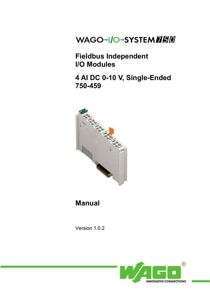 Wago 750-459 modulo I//O digitale e analogico