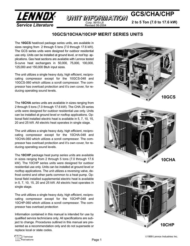 10GCS Series | manualzz.com