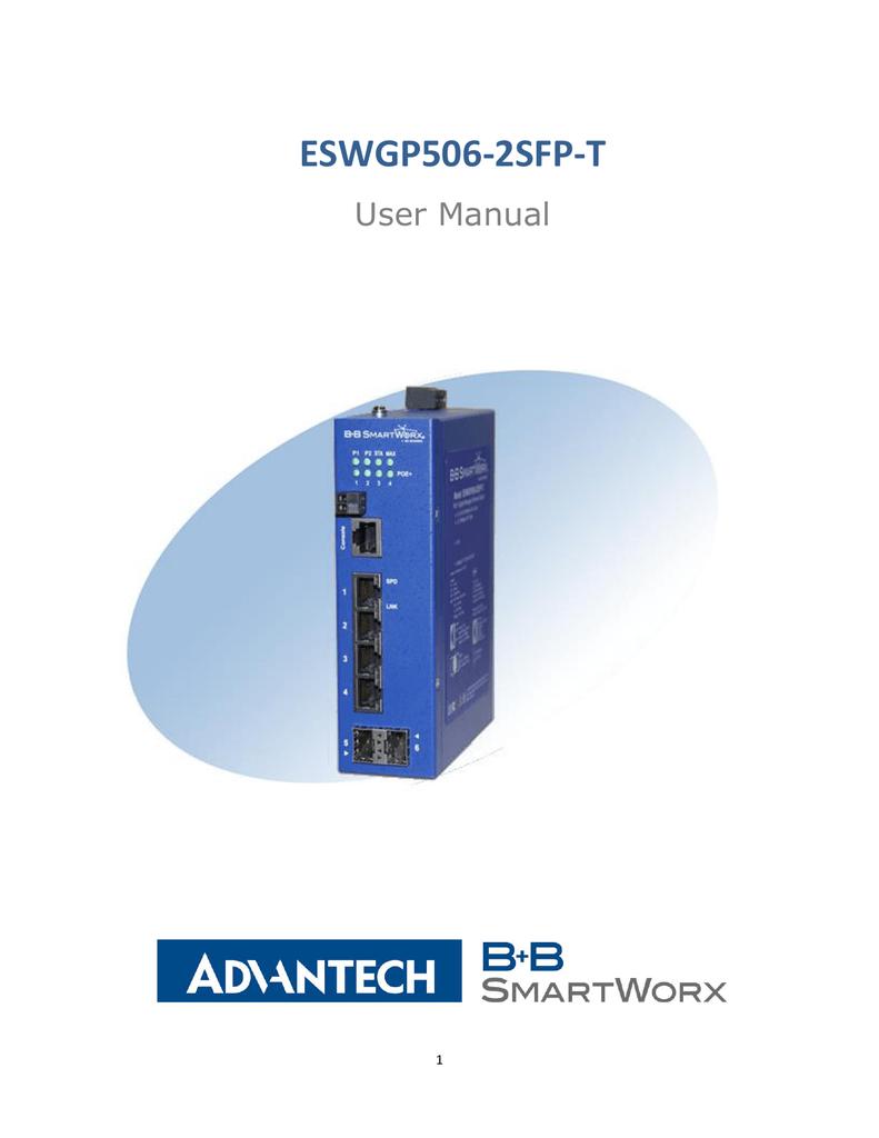 ESWGP506‐2SFP‐T User Manual   manualzz com