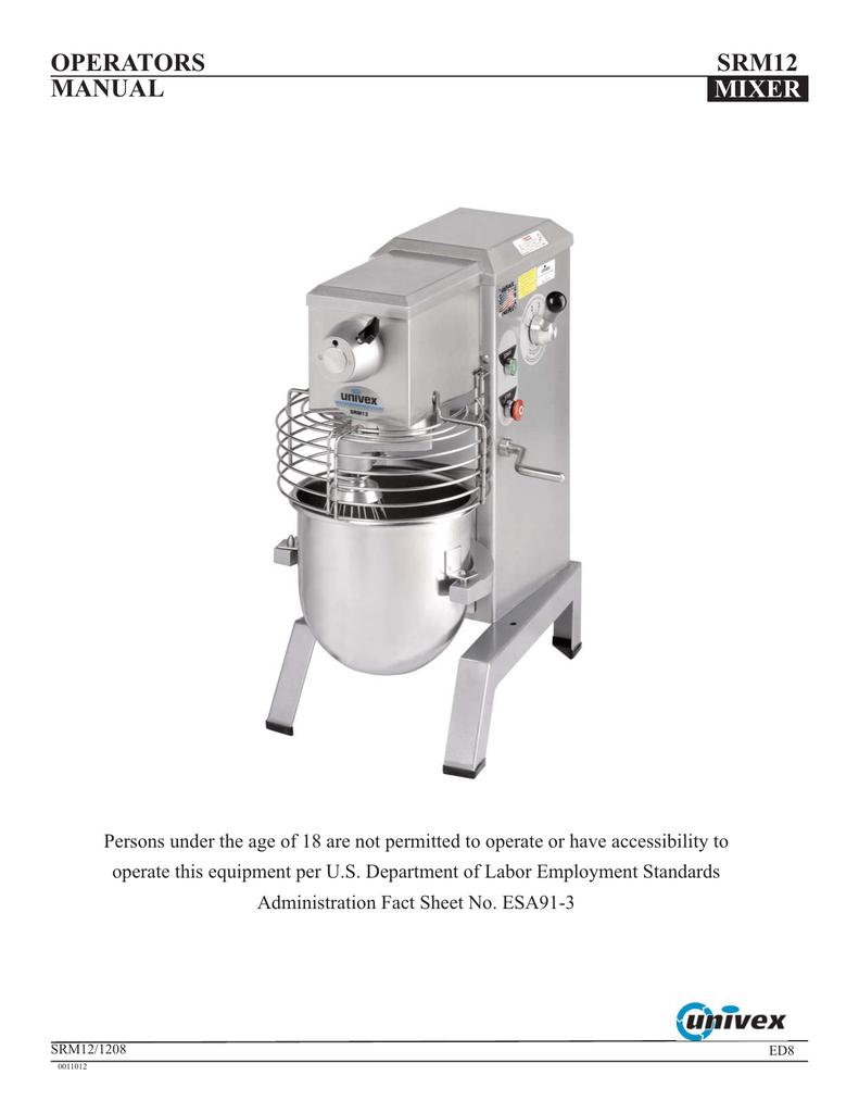 Univex 1000541 Ingredient Chute