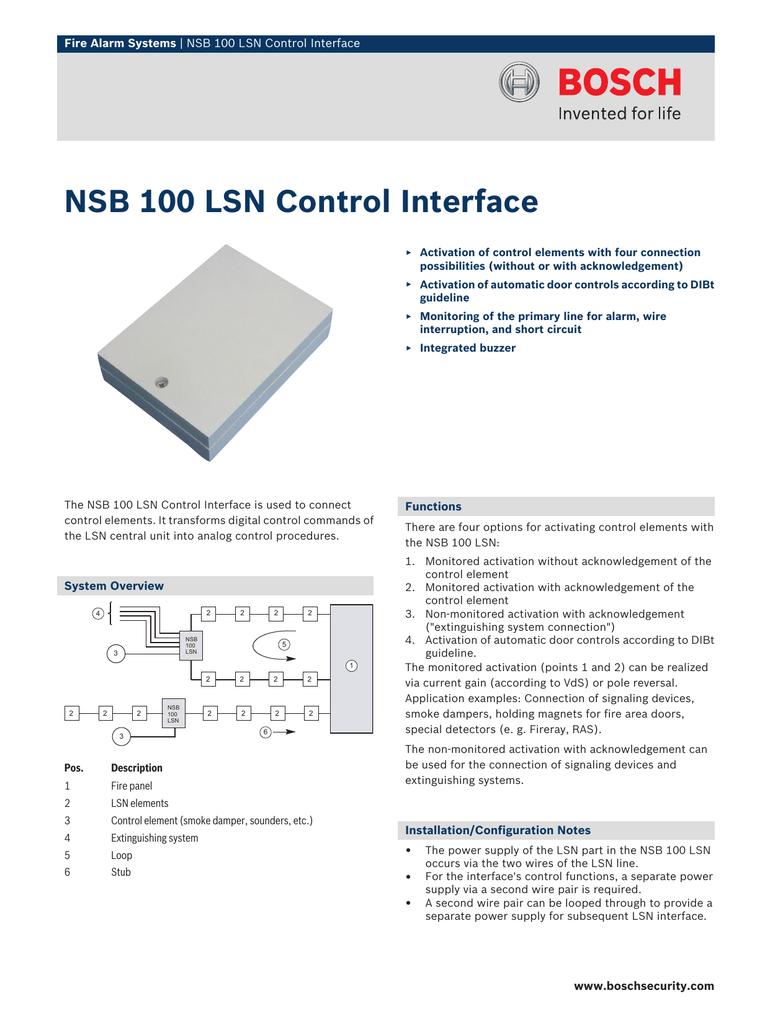 Nsb 100 Ap Fire Alarm Wiring Diagram Damper