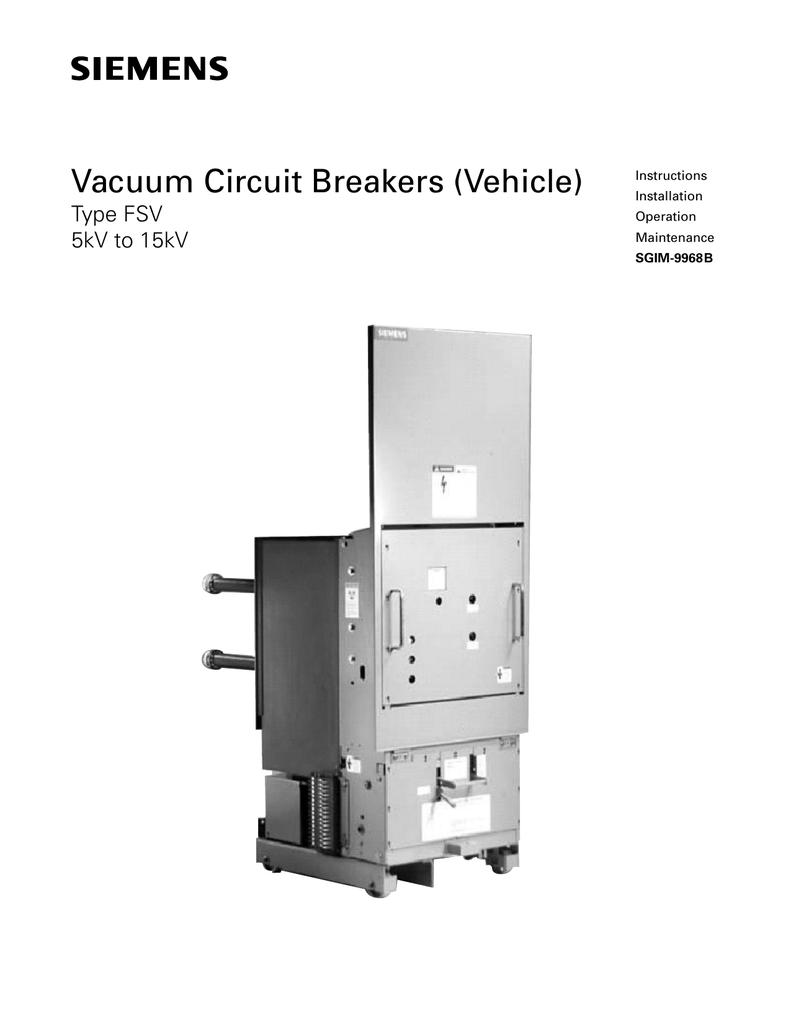 FSV (for Siemens / Allis-Chalmers FA/ FB/FC/FCV) Replacement