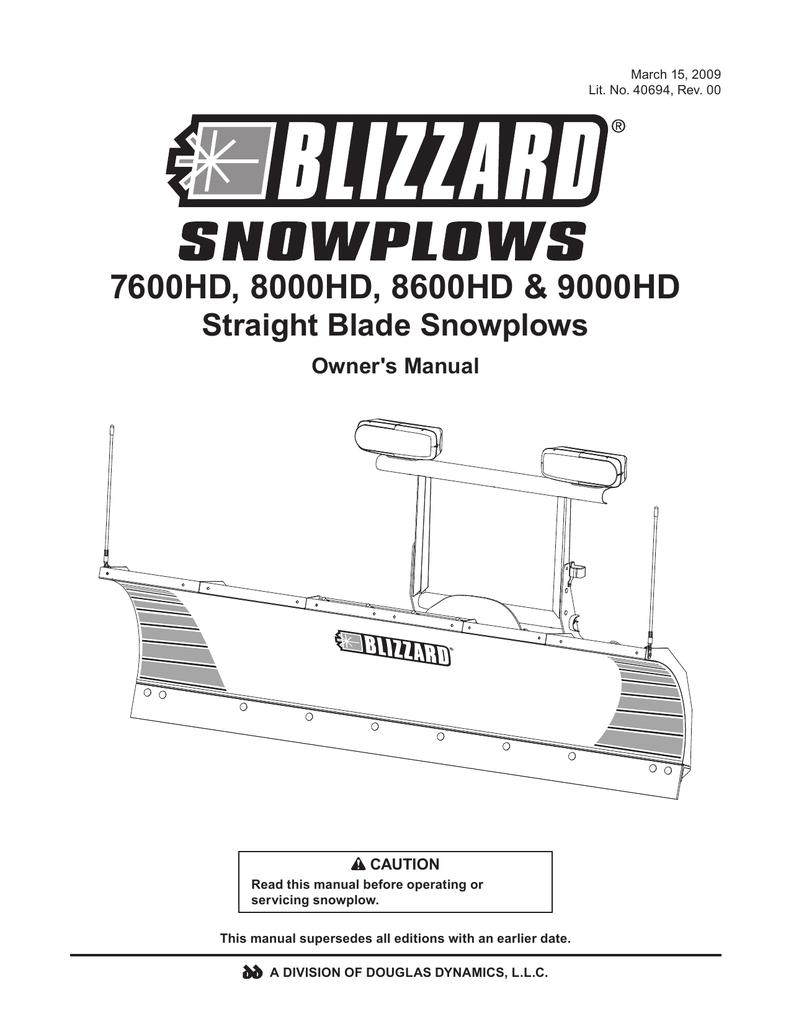 blizzard 8100pp plow wiring diagram    wiring diagram